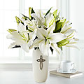 The Faithful Blessings™ Bouquet by FTD® - VASE INCLUDED