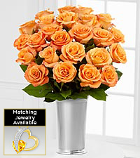 Floral Jewels™ November Citrine Birthstone Bouquet