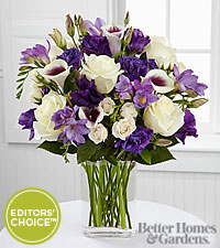 The FTD ® Moonlit Meadows Bouquet by Better Homes and Gardens ® - VASE INCLUDED