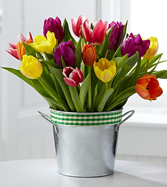 FTD Flowers Sun Crush Autumn Tulip Flowers by Better Homes and Gardens & reg:
