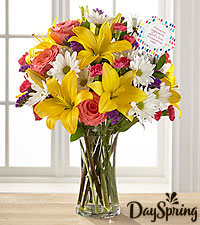 DaySpring ® Peace & Love Bouquet