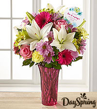 DaySpring ® In My Prayers Get Well Bouquet