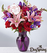 DaySpring ® God is Love Valentine 's Day Bouquet