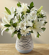 With Peace & Gratitude Bouquet - VASE INCLUDED