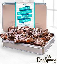 DaySpring ® Sweet Blessings Milk Chocolate Almond Bark
