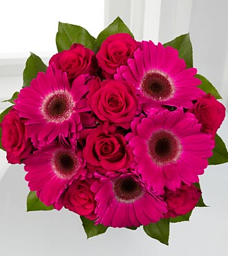 Adrenaline Blush Bouquet - 13 Stems, no vase