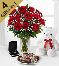 Ready for Romance Ultimate Gift - VASE INCLUDED