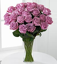 The FTD&reg; Lavender Rose Bouquet - VASE INCLUDED