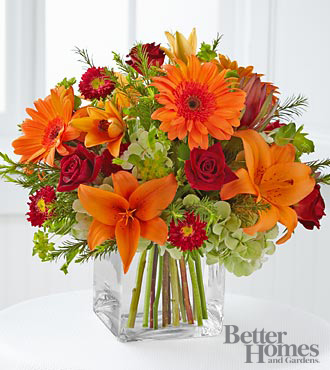 FTD Flowers Fabulous Fall Flowers by Better Homes and Gardens - VASE INCLUDED