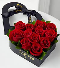 Captivate My Heart Romantic Rose Arrangement