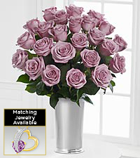 Floral Jewels&#153; February Amethyst Birthstone Bouquet