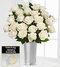 Floral Jewels™ April White Topaz Birthstone Bouquet