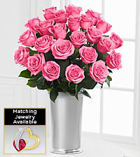 Floral Jewels&#153; June Rhodolite Birthstone Bouquet