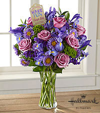 The FTD ® Have Fun, Laugh Lots Bouquet by Hallmark- VASE INCLUDED