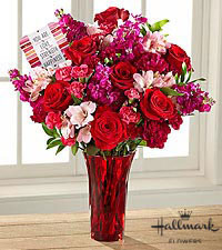 The FTD ® You are My Love Bouquet by Hallmark- VASE INCLUDED