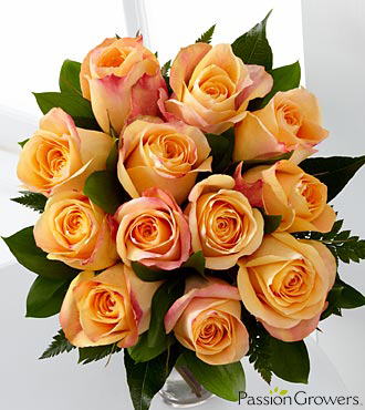 Passion&trade; for Gratitude Rose Bouquet - 12 Stems of 20-inch Roses