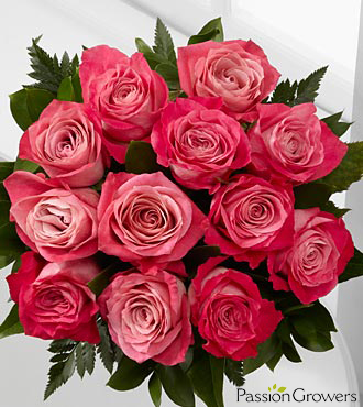 Passion&trade; for Beauty Rose Bouquet - 12 Stems of 20-inch Roses