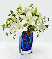 Starry Skies Bouquet-Vase Included