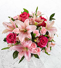 You Had Me at Pink Bouquet - No Vase