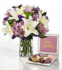 Lavender Fields Mixed Flower- Ultimate Gift