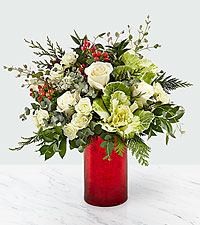 The FTD ® Holly & Jolly Bouquet