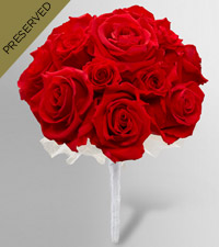 Keepsake Roses™ Red Nosegay by FTD ®