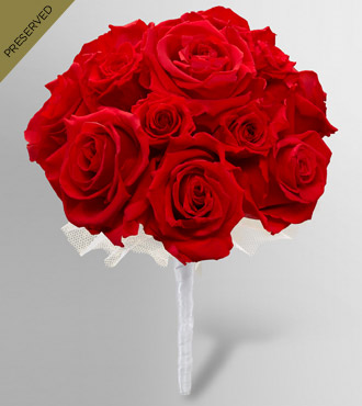 Keepsake Roses™ Red Nosegay by FTD®