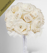 Keepsake Roses&trade; White Nosegay by FTD &reg;