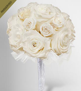 Keepsake Roses™ White Nosegay by FTD®