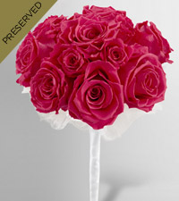 Keepsake Roses™ Hot Pink Nosegay by FTD®
