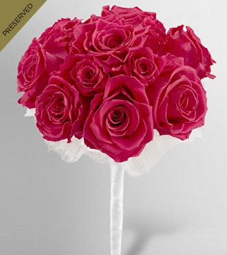 Keepsake Roses&trade; Hot Pink Nosegay by FTD&reg;