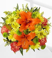 Keep Smiling Mixed Flower Bouquet - No Vase