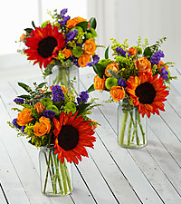 Happy Homecomings Petite Bouquet Trio - 3 Petite Jars Included