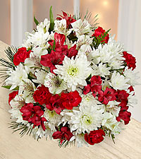 Joy to the World Holiday Bouquet - NO VASE