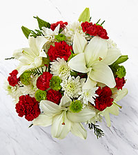 Open Your Heart Holiday Bouquet - NO VASE