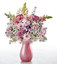 Wistful Wishes Bouquet - VASE INCLUDED