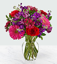 Lucky in Love Bouquet - VASE INCLUDED