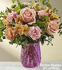The FTD ® It 's a Colorful LIfe Bouquet by Better Homes and Gardens ® -VASE INCLUDED