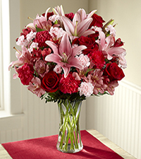 Forever Love Valentine 's Day Bouquet