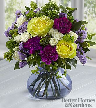 The FTD Picture Perfect Bouquet by Better Homes and Gardens - VASE INCLUDED