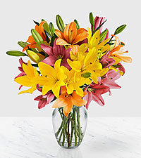 Deluxe Spring Royal Lilies