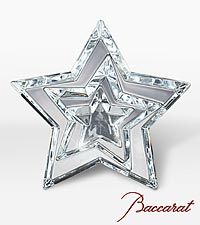 Shining Moments Bouquet with Baccarat® Three Stars Paperweight
