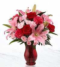 Heart 's Emotions Valentine 's Day Bouquet