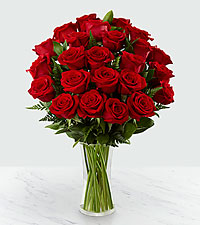 30 Long Stem Red Rose Bouquet