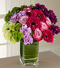 The Runway Ready Style Icon Bouquet - VASE INCLUDED