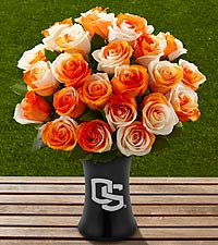 The FTD® Oregon State University® Beavers™ Rose Bouquet - VASE INCLUDED