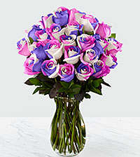 Loving Wishes Fiesta Rose Bouquet