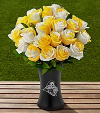 The FTD&reg; Purdue University&reg; Boilermakers&reg; Rose Bouquet - VASE INCLUDED