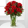 Heart's Truth Bouquet with Waterford&reg; - VASE INCLUDED