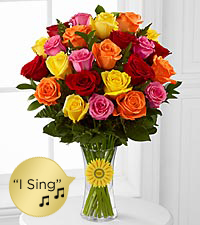 Messages from the Heart 'Say It Your Way'&trade; Bouquet - VASE INCLUDED